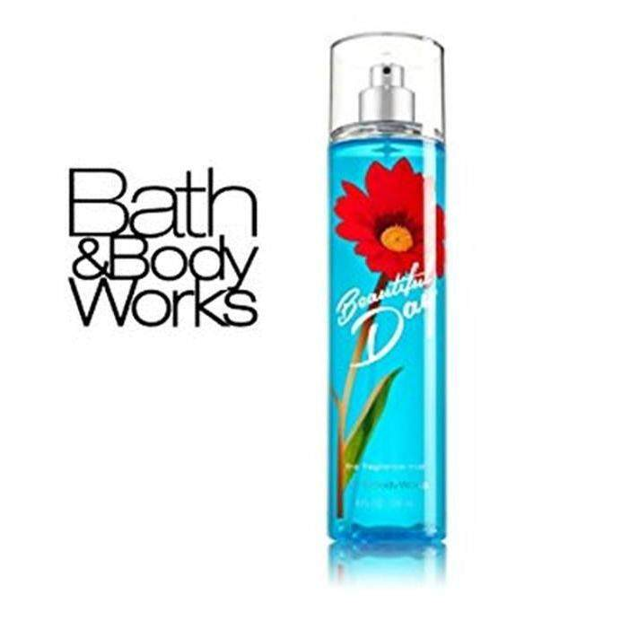 Bath and Body Works Beautiful Day Fine Fragrance Mist 8 fl oz / 236 ml