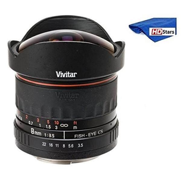 Vivitar 8 Mm Ultra Lebar F/3.5 Fisheye Lensa untuk Nikon D3000, D3100, D3200, d3300, D5000, D5100, D5200, D5300, D5500, D7000, D7100, D7200, D40, d50, D60, D70, D70s, D80, D90, D100, D200, D300, d500 DSLR-Internasional