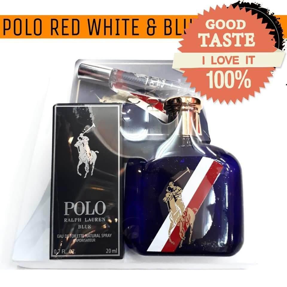 Polo Red White & Blue EDT Perfume Gift Set