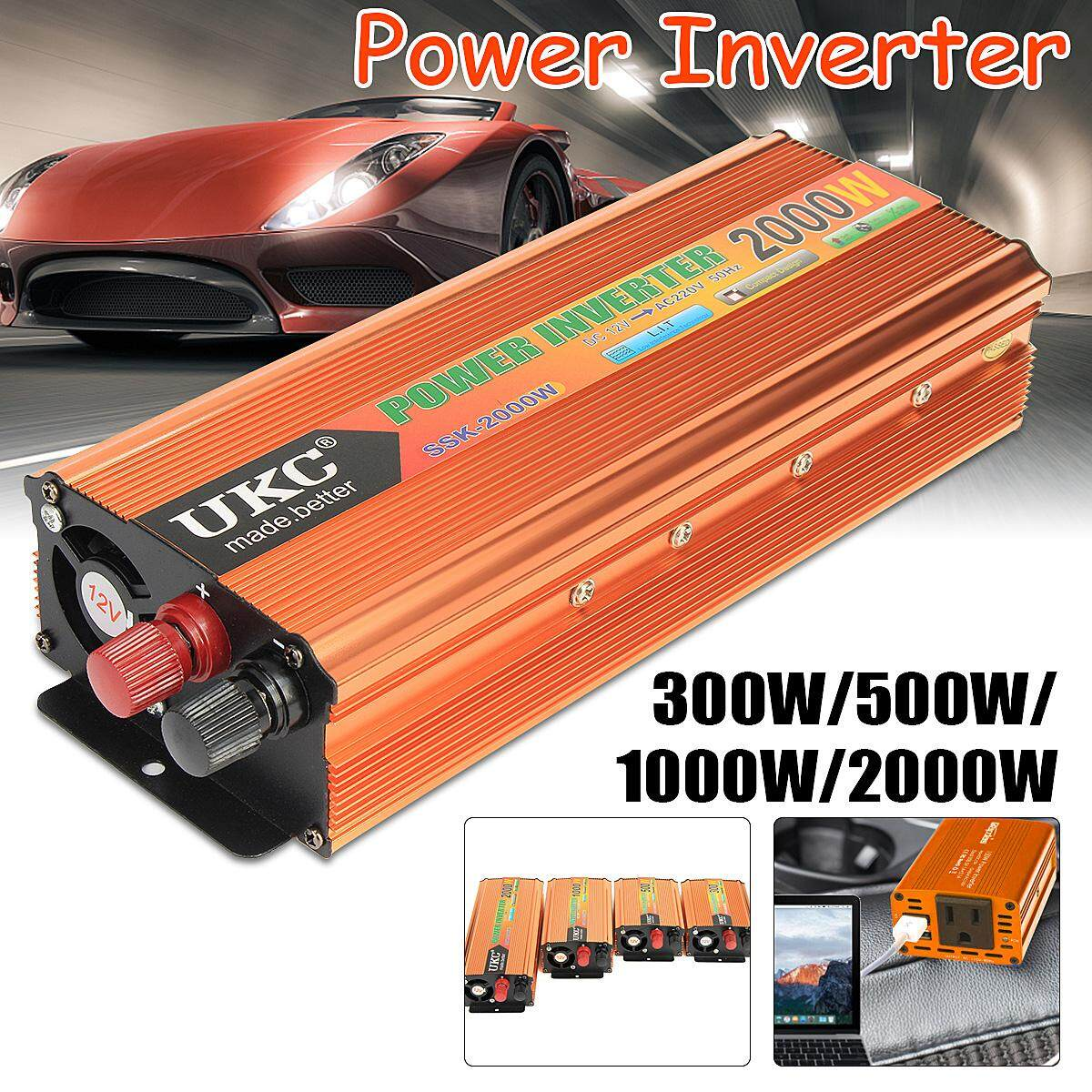 Car Inverter For Sale Power Converter Online Brands Prices Circuit 3000w 12vdc To 230vac 4000w Peak Surge Boat 12v 220v Adapter New Intl