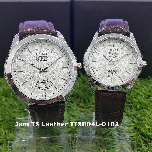 Jam TS Leather Day Date Silver TISD04L-0102.jpg