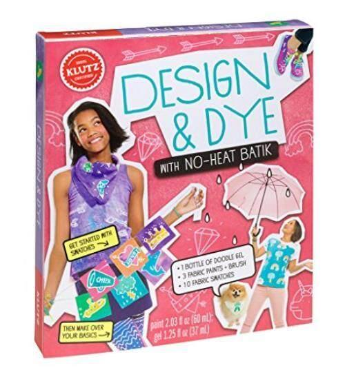 Klutz Desain & Dye Tanpa Panas Batik Ketrampilan Perlengkapan-Internasional