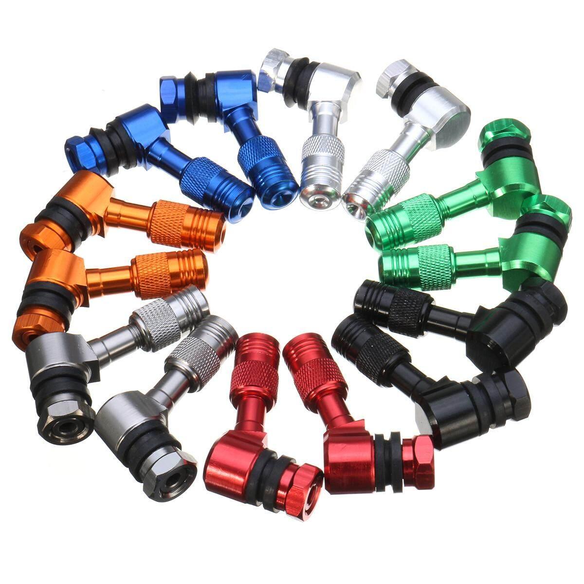 Roda Tire Katup Batang untuk Honda CB CBR NSR VTR 125 250 400 600 900 1000 11.3 Mm (Ungu) -Internasional