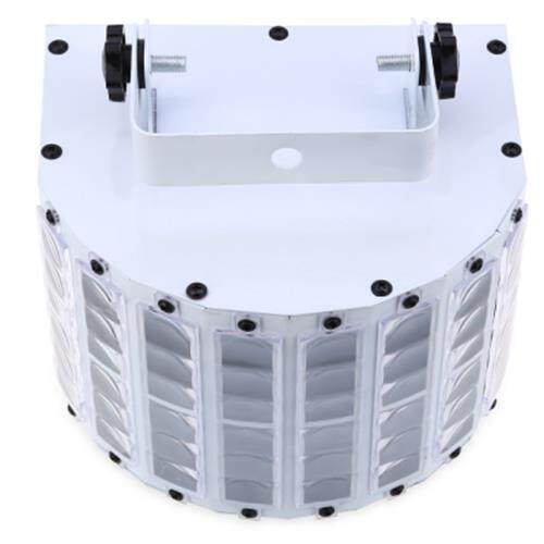 9W AC 90 - 240V SOUND ACTIVE AUTO LED STAGE STROBE LIGHT WITH REMOTE (WHITE)