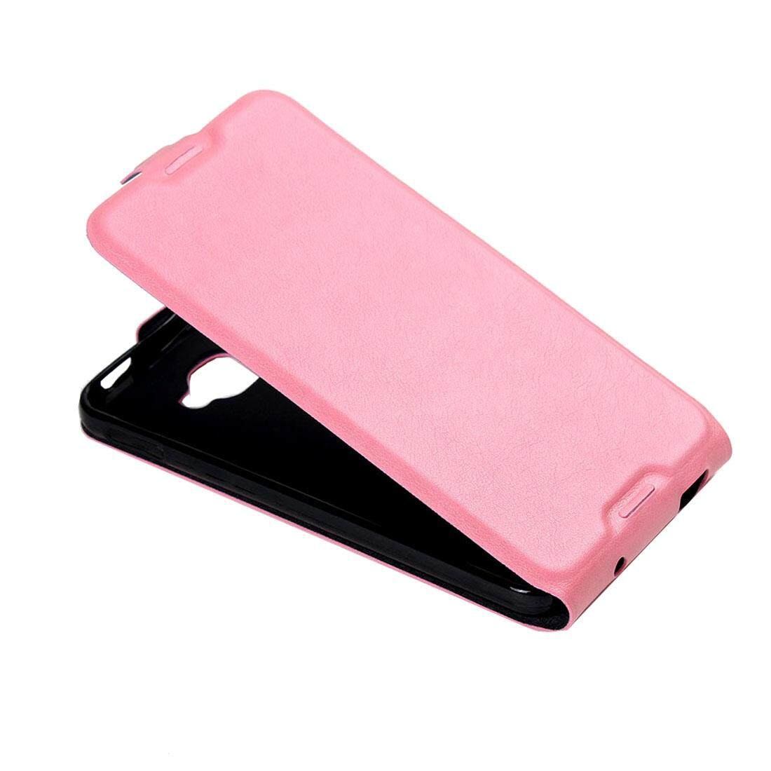 For Alcatel Idol 4S Vertical Flip Leather Case with Card Slot & Photo Frame(Pink) - intl