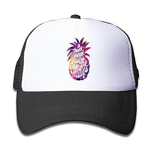 Satu Nanas Hari Penawaran PNG Topi Jaring Bisbol Snapback Topi untuk Anak-anak-Intl