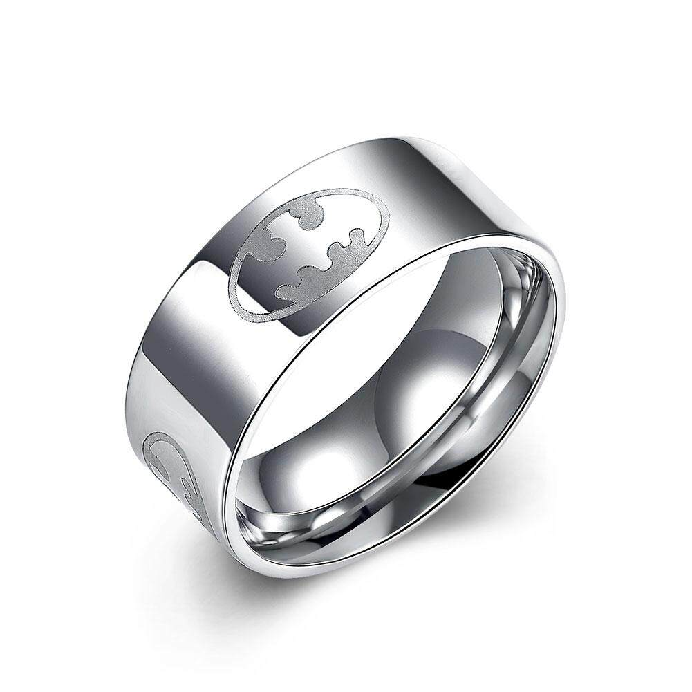 Kemstone Fashion Titanium Steel Rings Simple Silver Plated Finger Rings For Men By Kemstone Jewelry.