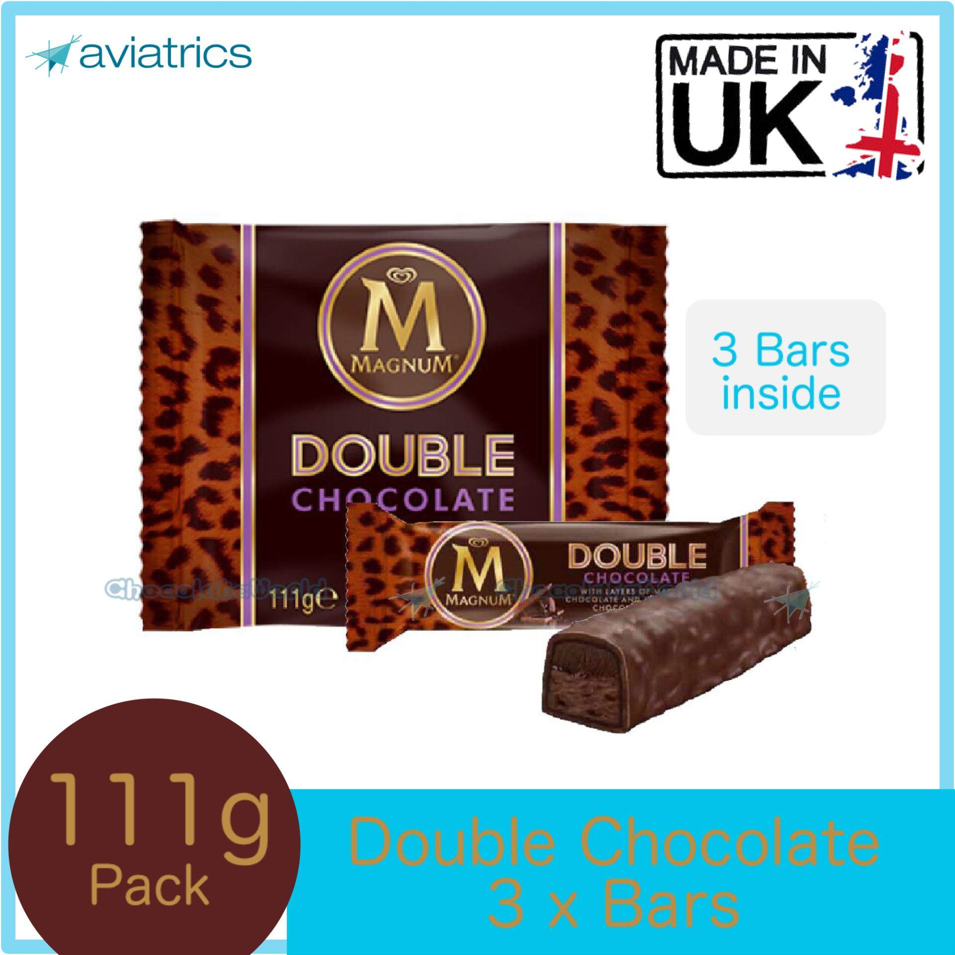 Magnum Double Chocolate Bar 111g (Made in UK)
