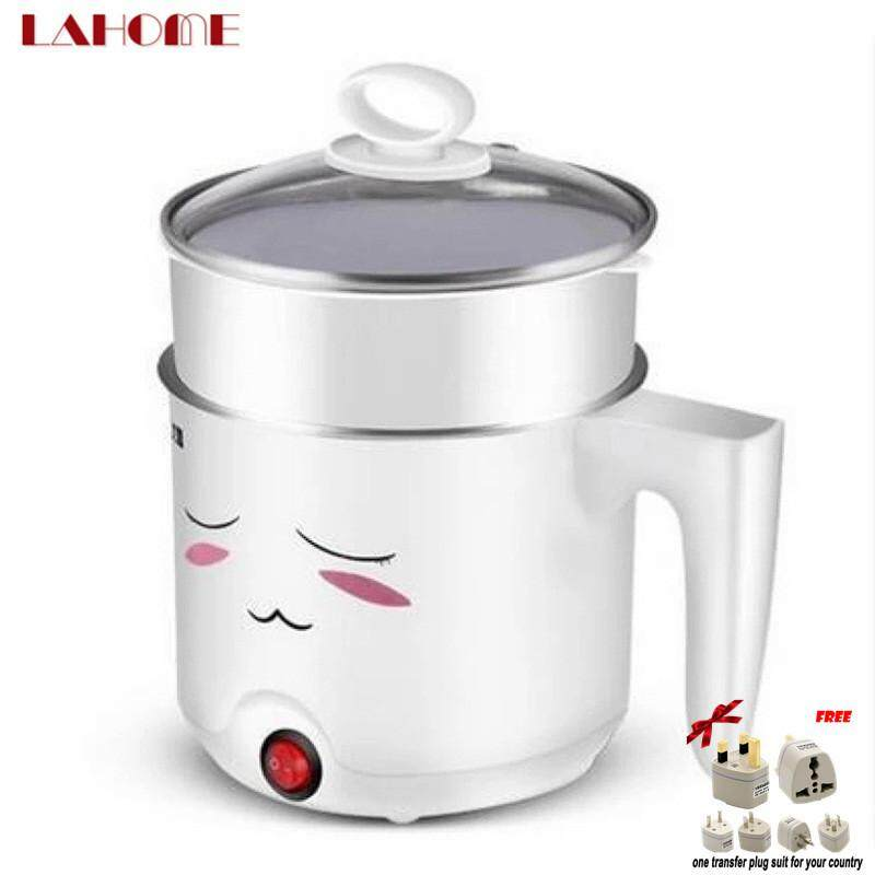 LAHOME Cooking Instant Electric Boiling Students Dormitory Mini Electric Hot Pot