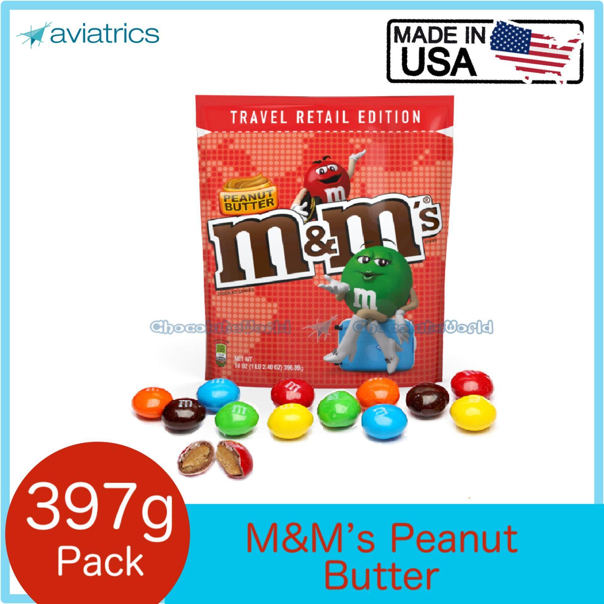 M&M's Peanut Butter Travel Retail Edition 397g