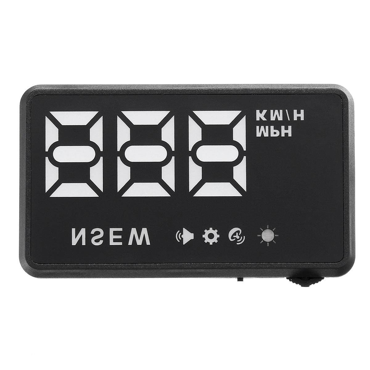Universal Car GPS Head Up Display HUD Speed Alarm Digital Wind Shield Projector - intl