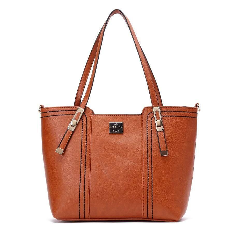 Angel Court Shoulder/Crossbody Handbag-ACP67-1937/Brown