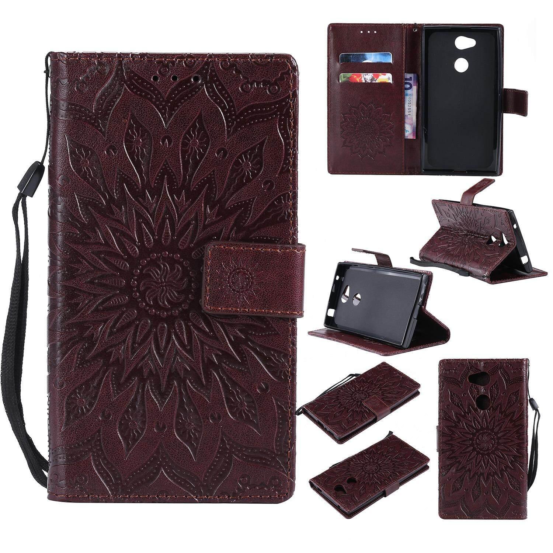 I-sheeta for Sony Xperia L2 H3311 H3321 Sony L2 Case Luxury PU Leather Flip