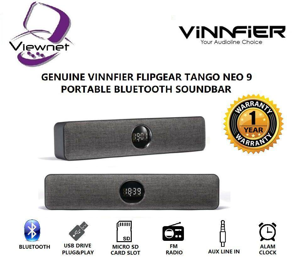 GENUINE VINNFIER FLIPGEAR TANGO NEO 9 PORTABLE BLUETOOTH SPEAKER