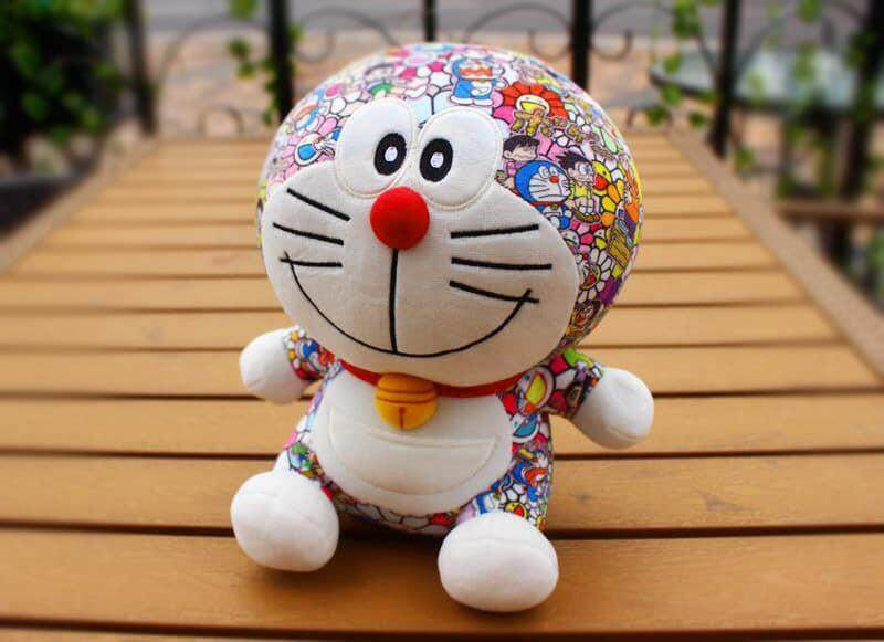 Hot Anime Doraemon Plush Toys Cute Cat Doll Soft Stuffed Animals Baby Toy for Kids Gifts Doraemon Figure toys for girls 20cm