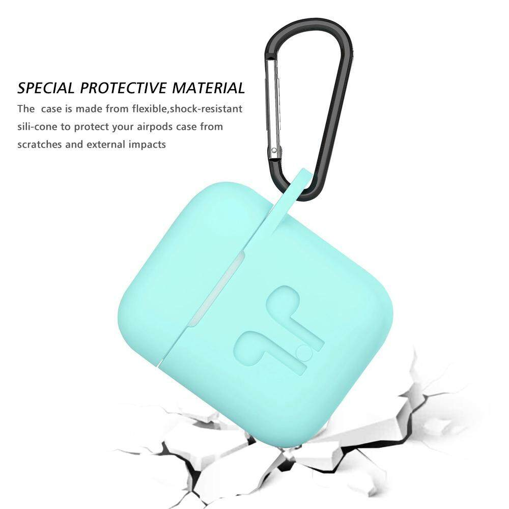 ... HOSdog Soft Silicone Cover For Apple Airpods Waterproof Shockproof Protector Case Sleeve Pouch For AirPods Earphone ...