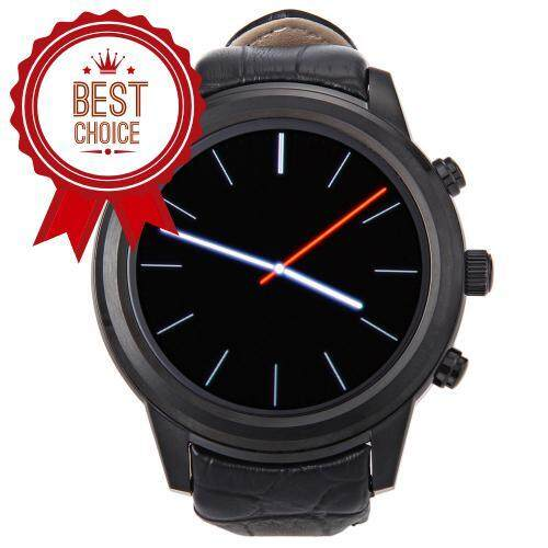 X5 1.4 INCH SMARTWATCH PHONE ANDROID 4.4 MTK6572 DUAL CORE 1.2GHZ 512MB RAM 4GB ROM HEART RATE (BLACK)