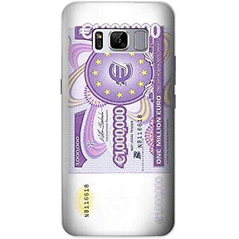 Baru R1665 Satu Juta Euro Catatan Case Sarung untuk Samsung Galaksi S8 Plus-Internasional