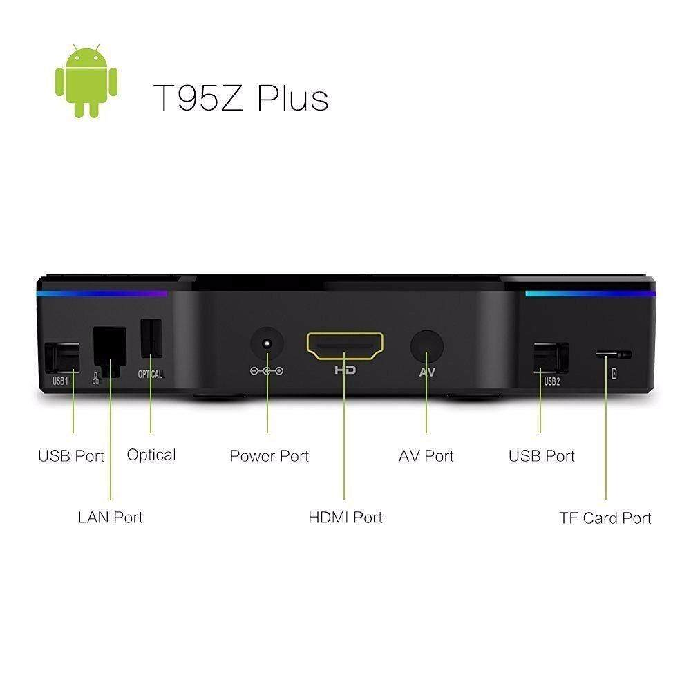 Features T95z Plus 3gb 32gb Android 7 1 Nougat Smart Tv Box Pre