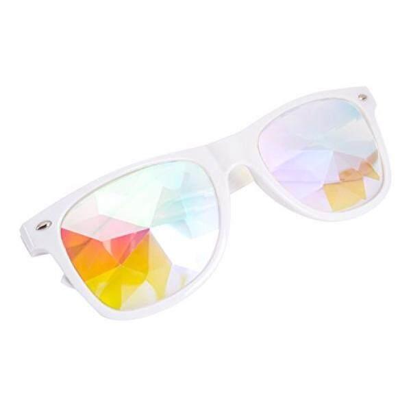 Kaleidoscope Kacamata-Pelangi Rave Prisma Difraksi Kristal Lensa Kacamata Hitam Kacamata-Internasional