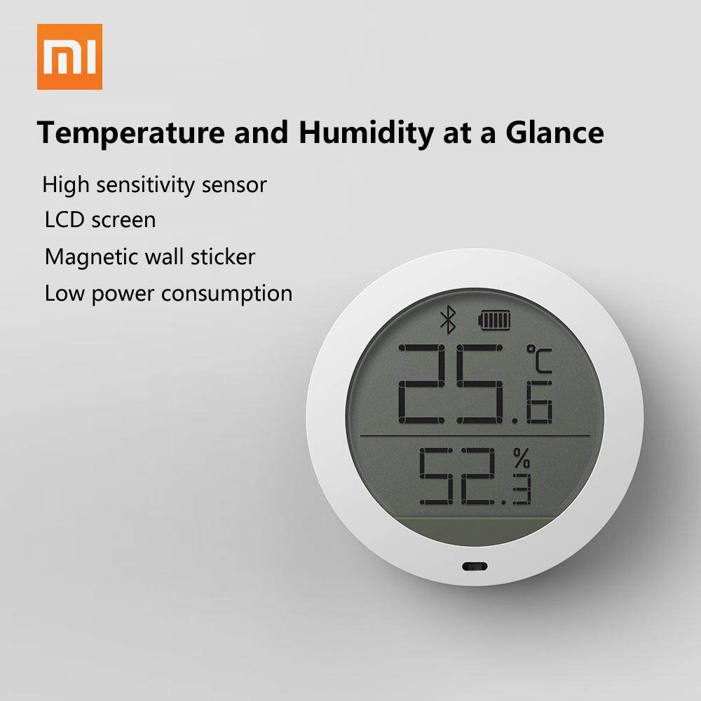 Price Xiaomi Mijia Bluetooth Temperature Humidity Sensor Digital Hygrothermograph Hygrometer Thermometer Moisture Meter Lcd Screen Intl Hong Kong Sar China