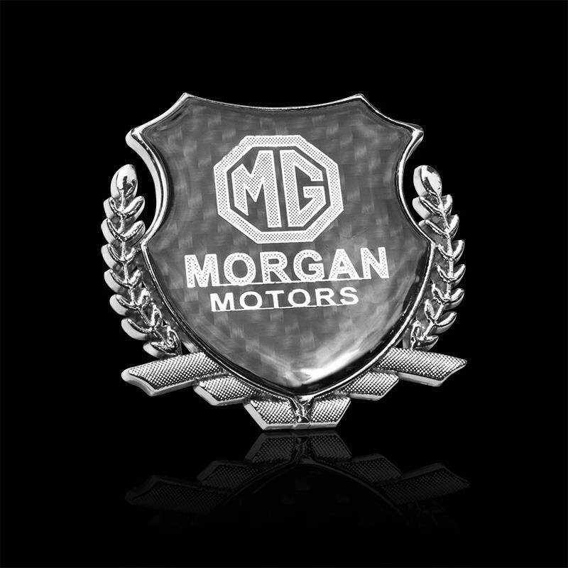 with MG Logo Car Exterior Decoration 3D Metal Sticker Emblem Badge Auto Accessories for MG MG3 MG5 MG6 MG7 TF ZR - intl