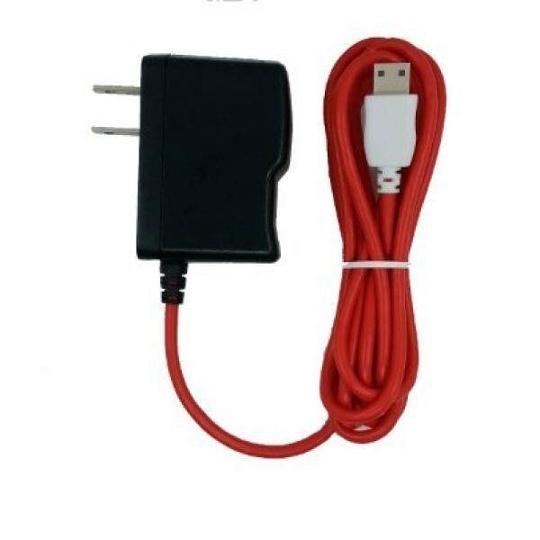 OEM AC untuk DC Pengisi Daya untuk Tablet Nabi JR dan Nabi XD dengan 6 Kaki (2 Meter) merah Panjang Kabel (NABI-USB-RD)-Internasional