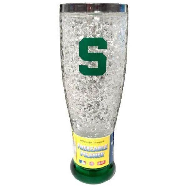 NCAA Michigan State Spartans 16-Ons Kristal Pembeku Pilsner-Internasional