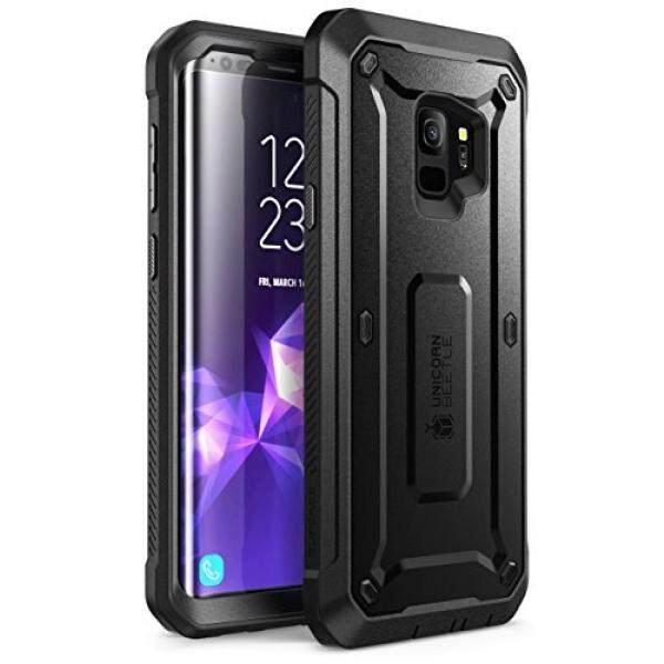 New Samsung Galaxy S9 Case Supcase Full Body Rugged Holster Case With Built In Screen Protector For Galaxy S9 2018 Release Unicorn Beetle Pro Series Retail Package Black Intl