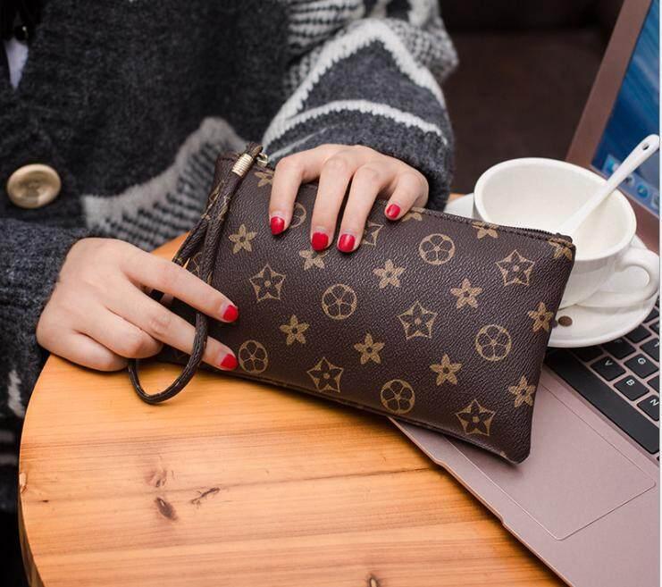 Women Lady PU Leather Clutch Card Holder Long Purse Hand bag Wallet