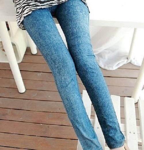 (Pre Order 14 DAYS) JYS Women Fashion Legging 114-767-D (Blue) ONE SIZE