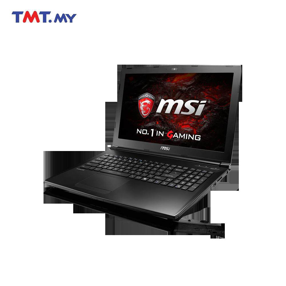 MSI GL62 6QF-825MY|Intel i7-6700HQ+HM170 2.60GHz|4GB |1TB- Black Malaysia