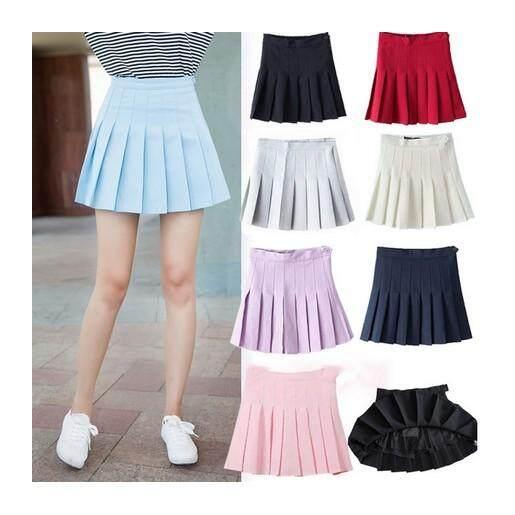 (Pre Order ETA 14/2) JYS Fashion Korean Style Pleated Skirt Collection 87 -7873 (Sky Blue)(ETA: 2021-12-31)