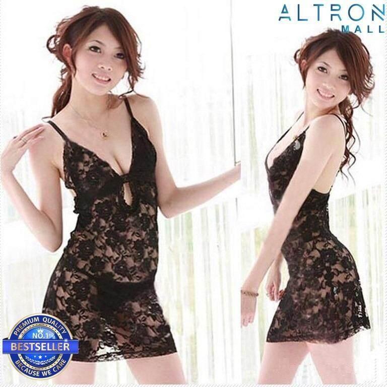 Sexy Lingerie Women Nightdress Babydoll Underwear Sleepwear D608