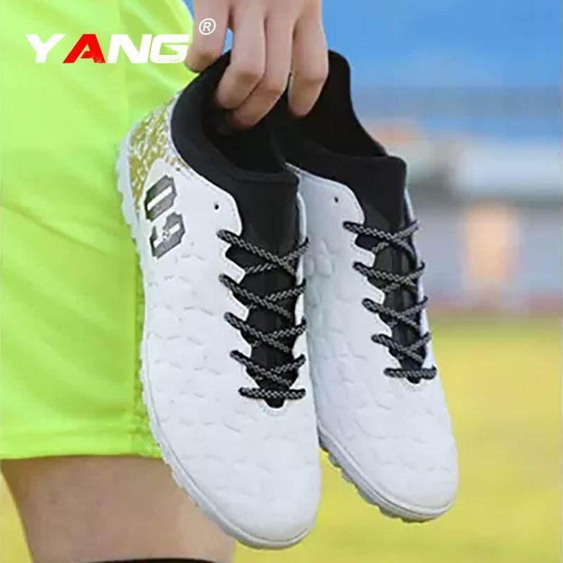 Yang 2018 Baru Pria Luar Ruangan Sepak Bola Sepatu Turf Dalam Sepak Bola Futsal Sepatu Kasut Futsal Lelaki (Tf) -Internasional