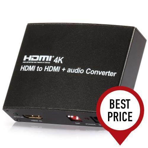 4K X 2K MHL EU PLUG HDMI TO HDMI AUDIO CONVERTER FOR PROJECTOR DISPLAYER - 100 - 240V (BLACK)
