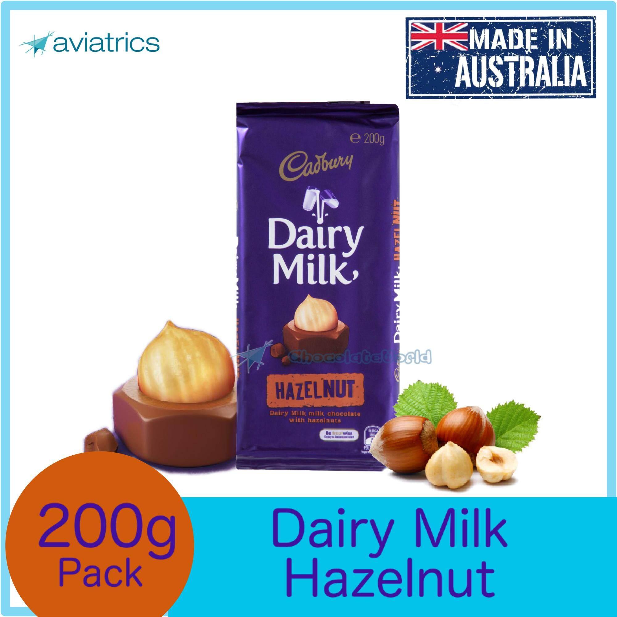 Cadbury Dairy Milk Hazelnut 180g (Made in Australia)