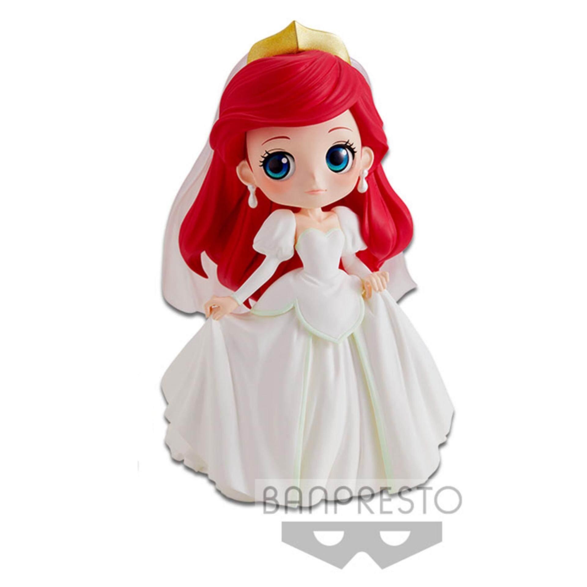 Banpresto Q Posket Disney Princess Figure Pastel Version - Ariel Dreamy Style Toys for boys