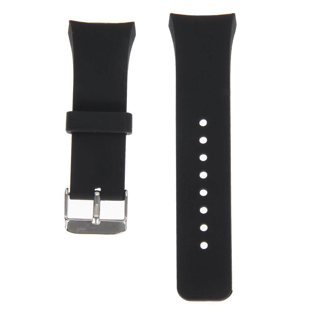 Silicone Watch Band Strap For Samsung Galaxy Gear S2 SM-R720 (Black)