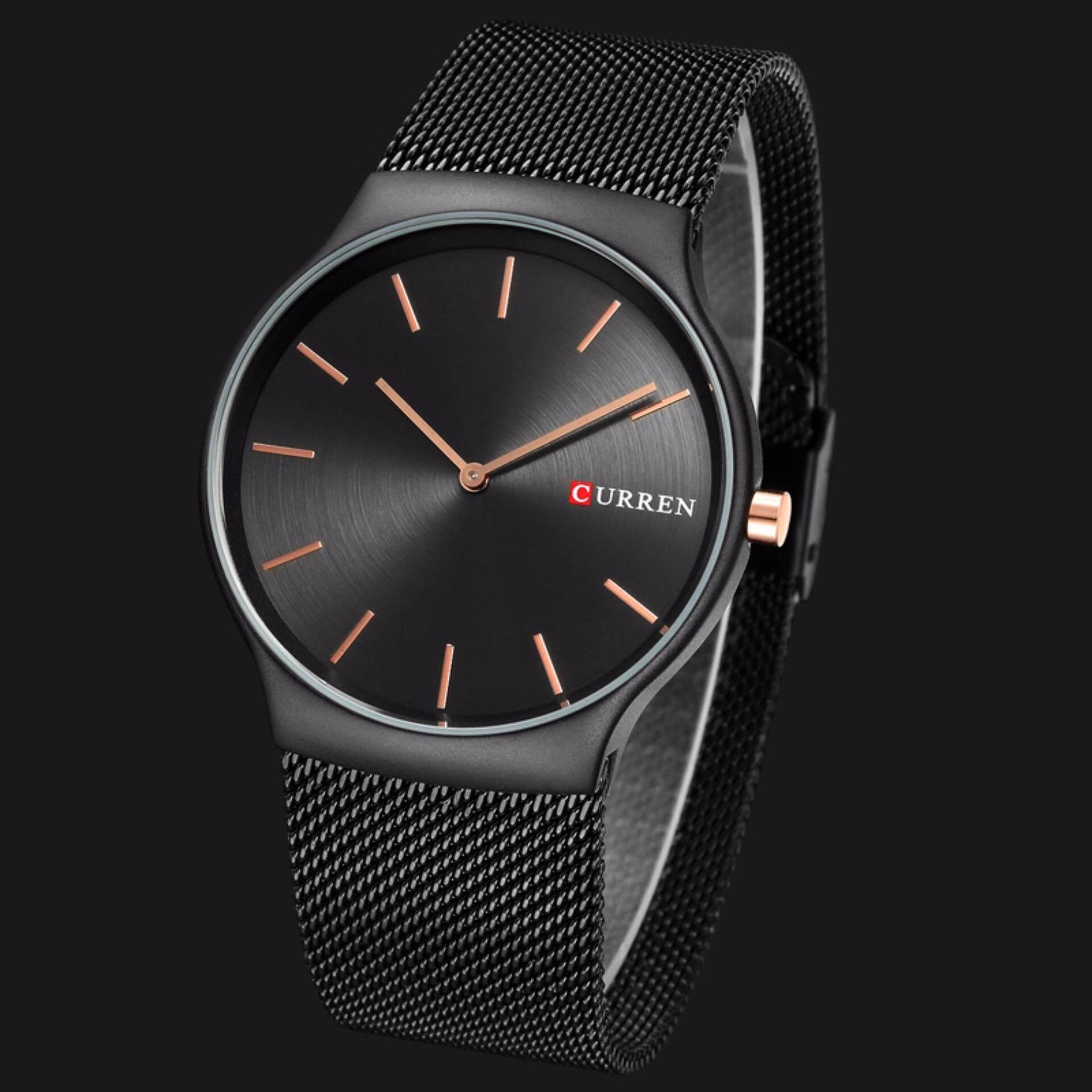 Cek Harga Curren 8256 Black Rose Gold Pointer Luxury Brand Analog Jam Tangan 8139 Casual Style Watch Sports Wristwatch Quartz Business Men