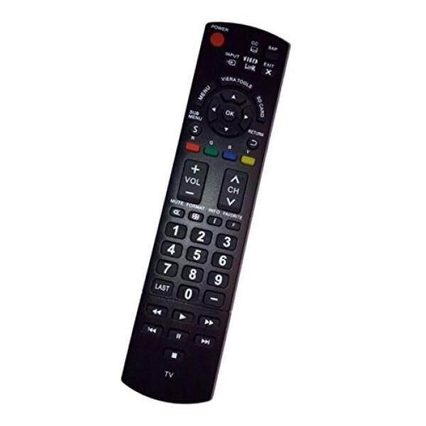 Diganti Pengendali Jarak Jauh Kompatibel untuk Panasonic TCL32C3 TC-42PX34 TCL42U30 TC-L42E30 TC50PX34 TC-P5032C Plasma TV-Internasional