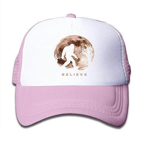 Lucu Bigfoot Sasquatch Bulan Purnama. Png Jaring Topi Bisbol Topi untuk Anak-anak-Internasional