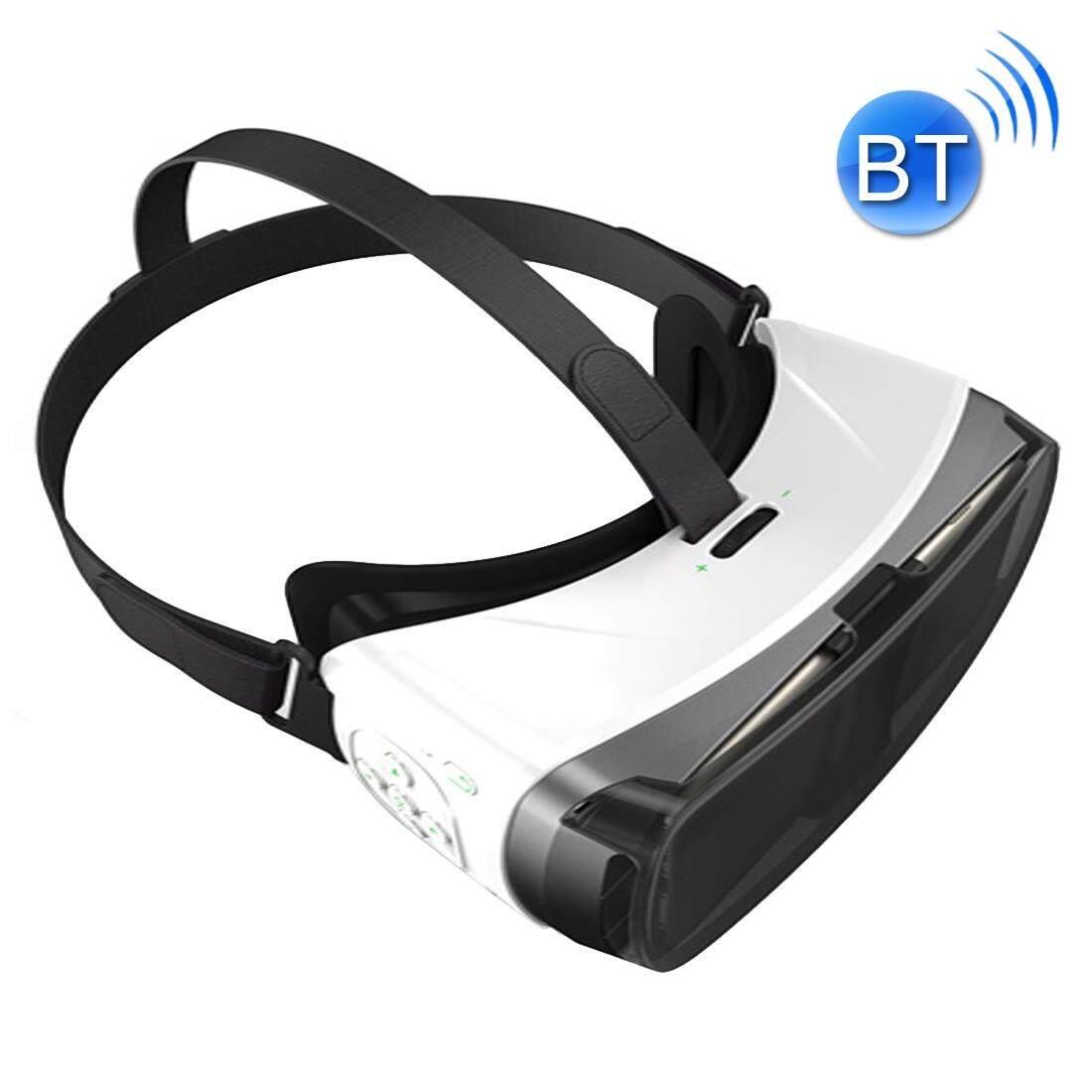 Mata Perjalanan 0626 Vr Virtual 3D Headset Kacamata untuk 3.5 Sampai 5.5 Inch Ponsel Pintar, Mendukung Bluetooth (Hitam) -Internasional