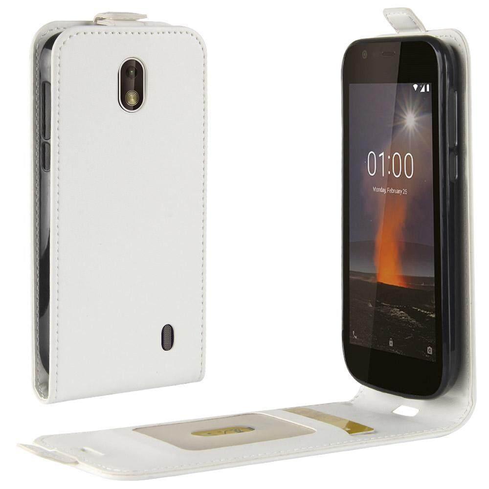 Moonmini Case Sarung untuk Nokia 1 Case Terbaru Kulit PU Dropproof Anti-Menggaruk Ponsel Case Sarung dengan Kartu slot-Internasional