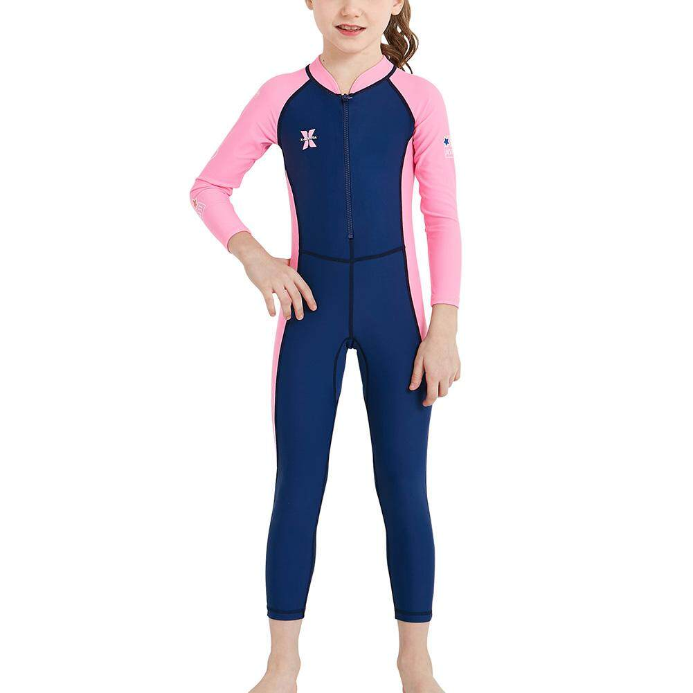 Boys Girls Wetsuit One Piece Swimsuit UV Protection For Diving Swimming