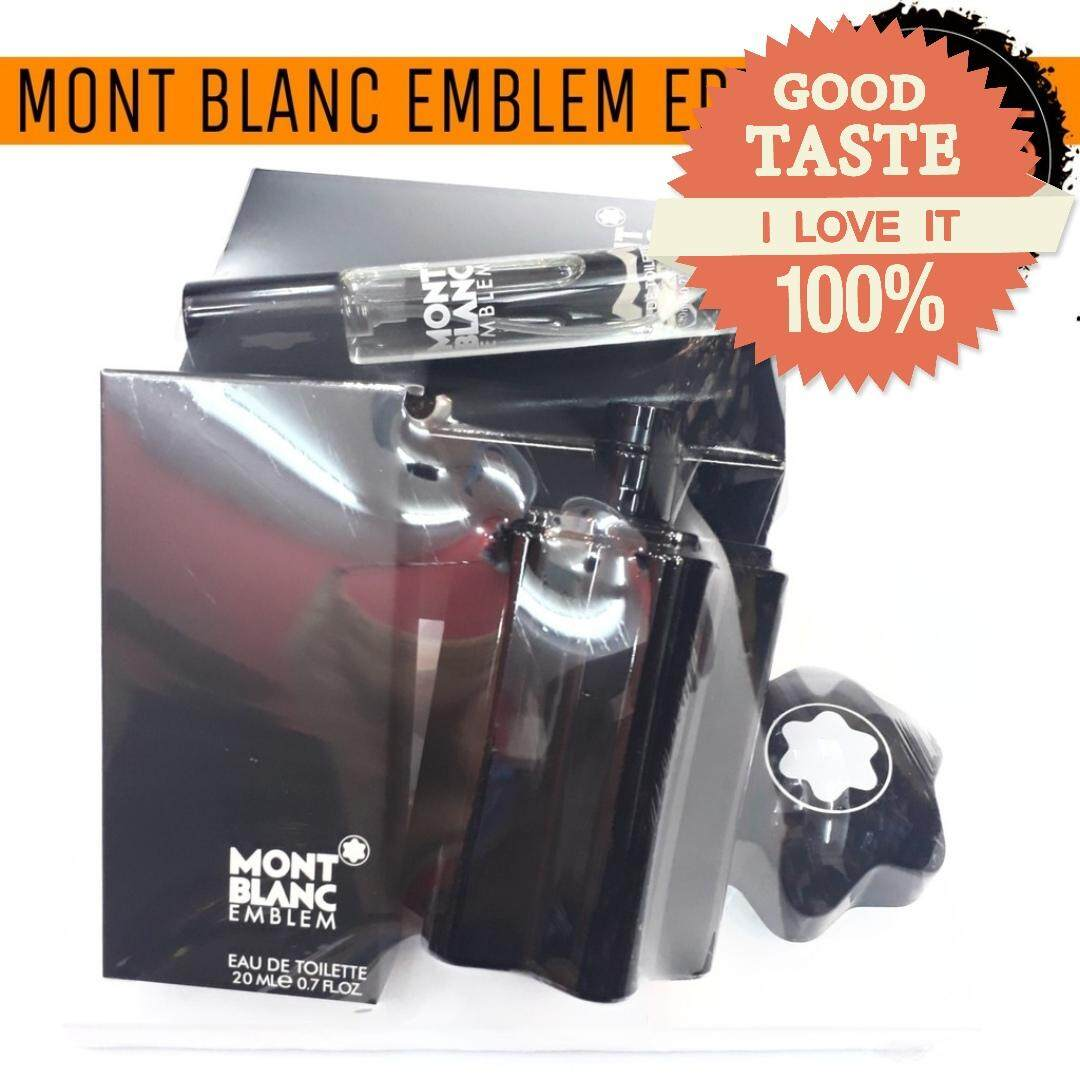 Mont Blacn Emblem Perfume Gift Set