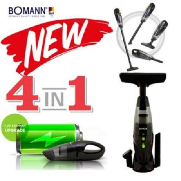 [BOMANN] 4in1 Cordless vacuum Cleaner VC7210/ VC7211 /powerful suction handheld Portable mini Vacuum - intl Singapore