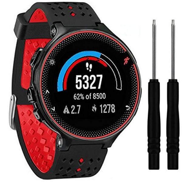 ... 235 GPS berjalan perhiasan dengan pergelangantangan berbasis denyut jantung (Kelabu Hitam) . Source · Soft Silicone Replacement Watch Band For Garmin ...