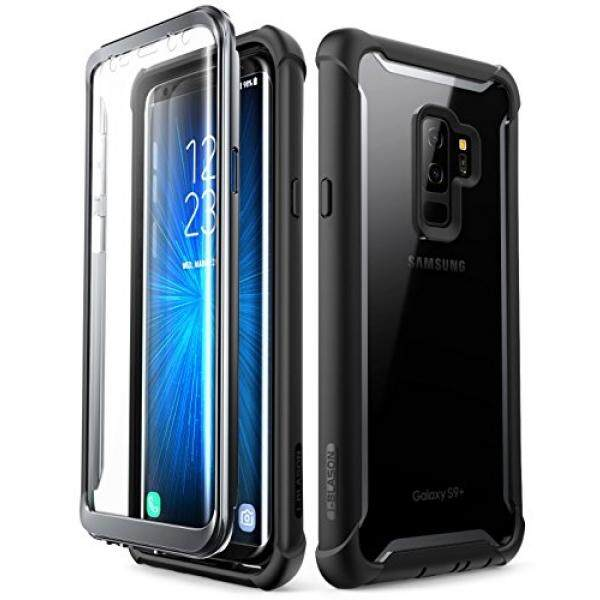 Samsung Galaxy S9+ Plus case, i-Blason [Ares] Full-body Rugged Clear Bumper Case with Built-in Screen Protector for Samsung Galaxy S9+ Plus 2018 Release (Black) - intl