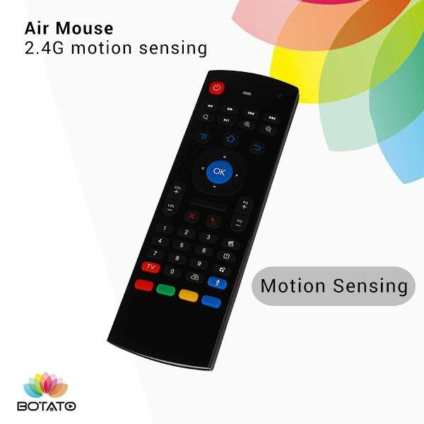 [[Air Mouse Wireless Keyboard]] Compatible To Xiaomi Mi Mibox Android TV box Sensing Keyboard Wireless Keyboard and Mouse
